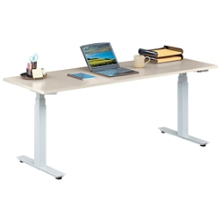 "Tabella Adjustable Height Table Desk - 72""W, 14166"
