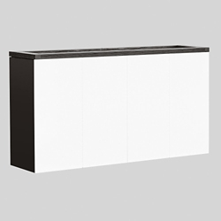 "Conference Hutch with Dry Erase Door Fronts - 72""W, 14181"