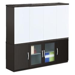 Transcend Storage Credenza and Conference Hutch Set, 14186