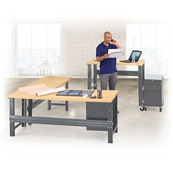 Annex Metal Frame Desk Set, 14573