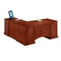 Executive Cherry L-Desk with Right Return, 15193