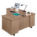 L-Desk with Left Return, 15251