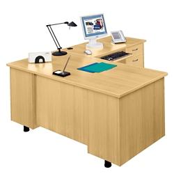 L-Desk with Right Return, 15252