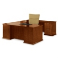 U-Desk with Right Return, 15870