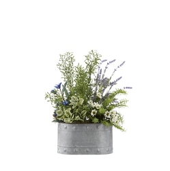"Lavender Mixed Plant- 20""H, 92356"