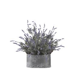 "Lavender Planter- 24.5""H, 92357"