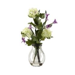 "Violet Vase Display- 16.5""H, 92359"