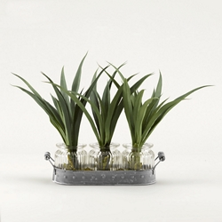 "Green Lily Grass- 12""H, 92350"