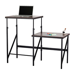 "Two Level Sit Stand Desk - 57.5""W, 14864"