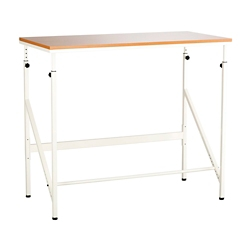 "Compact Standing Height Desk - 48""W, 14865"