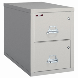 Legal Size Vertical Fireproof File with Safe, 34159