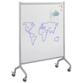 "Rumba Mobile Magnetic Whiteboard - 42""W x 54""H, 43401"