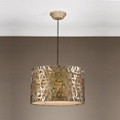 Metal Three Light Pendant, 82585