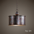 One Light Metallic Pendant, 82595