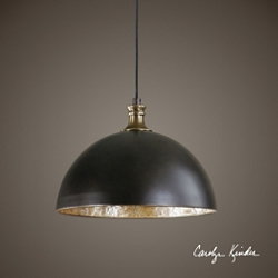 Black Dome Mini Pendant, 86502
