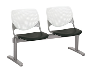 Two Seat Polypropylene Beam Seating, 76542