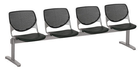 Four Seat Polypropylene Beam Seating, 76545