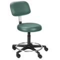 Height Adjustable Doctors Stool with Foot Ring, 25082