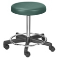 Stool with Adjustable Height and Foot Ring, 25085
