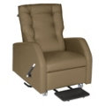 Hannah Bariatric Pillow Back Patient Recliner with Trendelenburg in Fabric, 25266