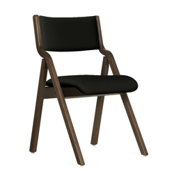 Janna Upholstered Folding Chair, 25488