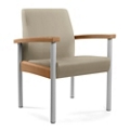 Metal Legged Vinyl Guest Chair, 25558