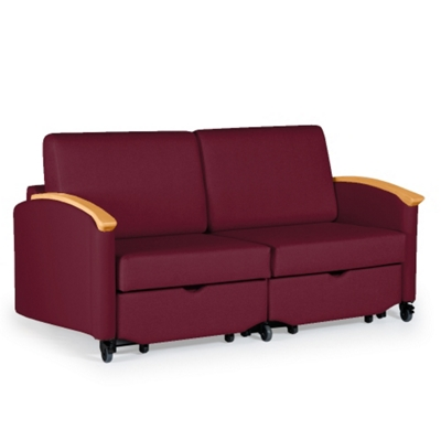 harmony double sleeper loveseat