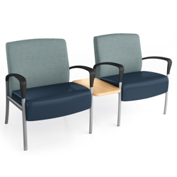 Aloe Two-Seater with Center Table, 25624