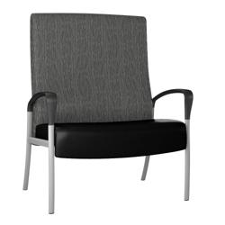 Aloe Bariatric Vinyl Patient Chair, 25628