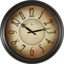 """Distressed 18"""" Wall Clock, 86444"""