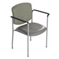 Heavy-Duty Vinyl Stack Chair, 25636