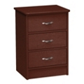 Davis Bedside Three Drawer Cabinet, 25650