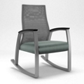 Foster Mesh Back Patient Rocking Chair, 25696