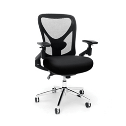 24hr Big & Tall Mesh Back Chair with Vinyl Seat, 57212