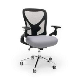 24hr Big & Tall Mesh Back Chair with Fabric Seat, 57211
