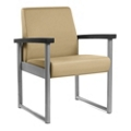 Behavioral Health Heavy-Duty Vinyl Guest Chair with Weighted Seat Pan, 25742