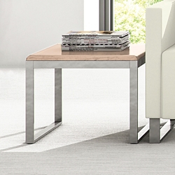 "Behavioral Health Solid Top End Table - 16""H, 26136"