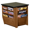 """End Table with Magazine Rack - 20.75""""W, 26245"""