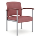 Polyurethane Guest Chair with Metal Frame, 26319