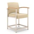 Polyurethane Hip Chair with Metal Frame, 26320