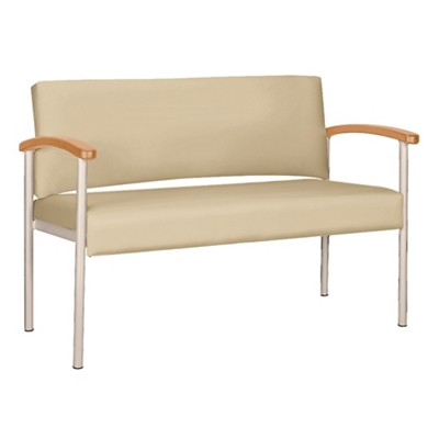 Polyurethane Bariatric Loveseat with Metal Frame 26322  sc 1 st  National Business Furniture & Bariatric Chairs   Heavy Duty Extra Wide Guest Seating for Medical ...