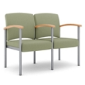 Polyurethane Two Seater with Metal Frame , 26326