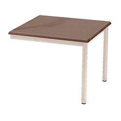 "Laminate Attached End Table - 21"" x 22"", 26331"