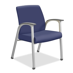 Vinyl Guest Chair with Wall-Saver Legs, 26337
