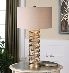 Metal Ring Table Lamp, 82474