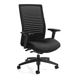 High Back Weight Sensing Synchro-Tilt Chair, 57171