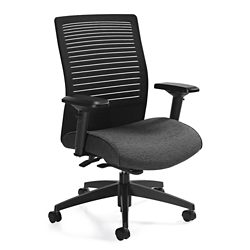 Medium Back Weight Sensing Synchro-Tilt Chair, 57172