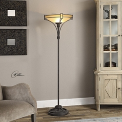 Hand Forged Metal Floor Lamp, 82483