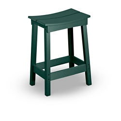 Counter Height Saddle Stool, 57280