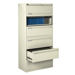 "Spectrum Six Drawer Lateral File - 42""W, 30054"